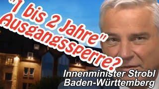 "Merkel-BRD droht: ""1 bis 2 Jahre"" Ausgangssperre"