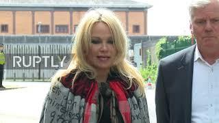 UK: 'We need to save his life' - Pamela Anderson after visiting Assange in prison