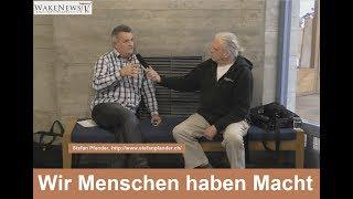 Wir Menschen haben Macht - Gesprächspartner Stefan Pfander 20180316