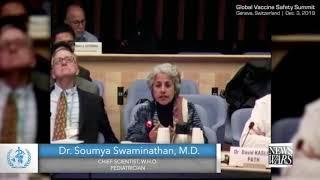 Geleakt: Chefwissenschaftlerin der WHO: Impfstoffe können tödlich sein