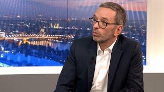 """Kickl zu Asylpolitik: """"Täter werden geschützt, Opfer stehen im Regen""""   krone.tv NACHGEFRAGT"""