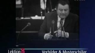 """Wehner versus Strauß: """"Herr Strauß und seine Mitsträuße"""""""