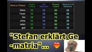 """""""Stefan erklärt Gematria"""" ..."""
