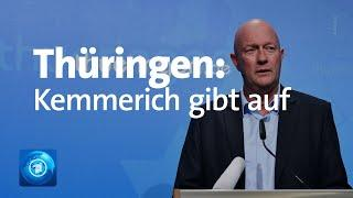 Thüringen: FDP will Landtag auflösen-Kemmerich vor Rückzug