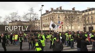 LIVE: Yellow Vests call for new protests in Paris - PART 2