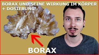 BORAX und seine WIRKUNG bei Arthrose, Arthritis und Osteoporose - ANWENDUNG & DOSIERUNG