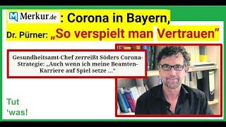 "Corona in Bayern:  ""So verspielt man Vertrauen"" (Merkur.de)"