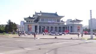 Pyongyang  North Korea walk