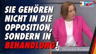 Sie gehören nicht in die Opposition, sondern in Behandlung! - Beatrix von Storch - AfD-Fraktion