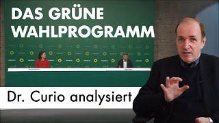 Das Grüne Wahlprogramm 2021: erschütternde Analyse von Dr. Curio