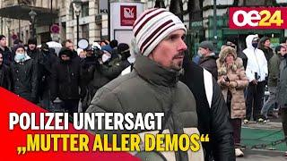 "Anti-Corona-Demo: Polizei untersagt ""Mutter aller Demos"""