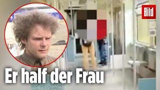 Während andere nur guckten, half er - Frau in Berliner S-Bahn attackiert