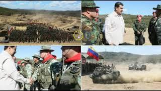 Venezuela Kicks Off The Largest Military Drills Ever Held In It's History