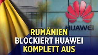 5G-Netzausbau: Rumänien schließt Huawei auch vom 5G-Markt aus