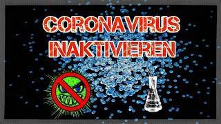 Studie: Chlordioxid-Lösungen inaktivieren den Coronavirus