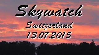 Skywatch Geoengineering Chemtrails Solar Radiation Management- Switzerland 13.07.2015