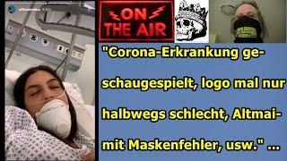 """""""Corona-Erkrankung geschaugespielt, logo nur halbwegs schlecht, Altmaier mit Maskenfehler, usw."""" ."""