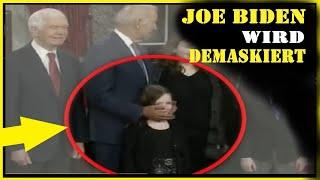 Wahnsinn, Joe Biden wird öffentlich demaskiert.Mann konfrontiert Biden mit seiner dunklen Seite