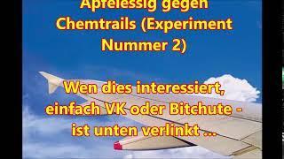 Trailer: Schrumpfkopf TV / Apfelessig gegen Chemtrails (Experiment Nummer 2)