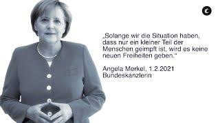 Merkel: Keine neuen Freiheiten bei geringer Durchimpfung.