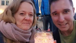 DE: Nach Auflösung der Querdenken-Demo (07.11.2020) in Leipzig interviewt Manuel Teilnehmerin Steffi