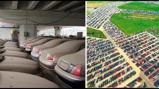 Wo Enden Die Unverkauften Autos? Hier Fotos Der Autofriedhöfe