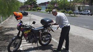 1 Liter für 500 KM - Motorrad fährt mit Wasser