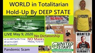 WORLD in Totalitarian Hold-Up by Deep State - UNITEDWESTART Roundtable Discussion May 9, 2020