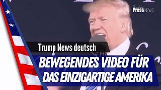 Trumps leidenschaftliche Rede an die Amerikaner - deutsch