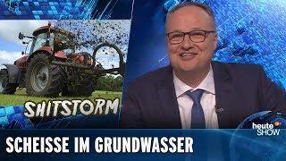 BRD Toilette Europas - Gülle - Grundwasser