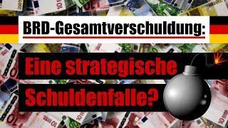 BRD-Gesamtverschuldung: Eine strategische Schuldenfalle? | 18.03.2021 | www.kla.tv/18355