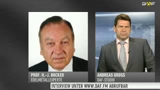 Prof.  Bocker:  Unser Gold ist weg!