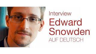 Edward Snowden Interview - Der Tiefe Staat und wie Einzelpersonen etwas verändern können