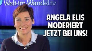 Früher moderierte Angela Elis bei ARD/ZDF – jetzt bei Welt im Wandel TV!