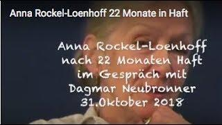 Anna Rockel-Loenhoff  22 Monate in Haft- am 02.11.2018 veröffentlicht