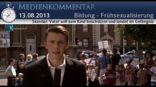Skandal:  Vater will sein Kind beschützen und landet im Gefängnis | 13. August 2013 | klagemauer.tv