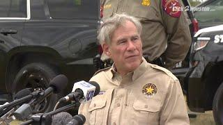 Governeur from Texas: Abbott discusses border security