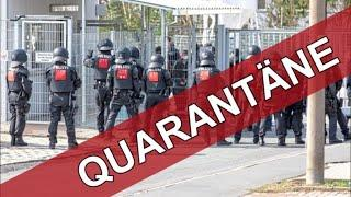 533 Flüchtlinge unter Quarantäne ► Randale und IS Fahne