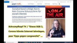 """Trailer: Schrumpfkopf TV / """"Etwas SGB 2, Internet-Lahmlegung & Mittel gegen Einsamkeit"""" ..."""