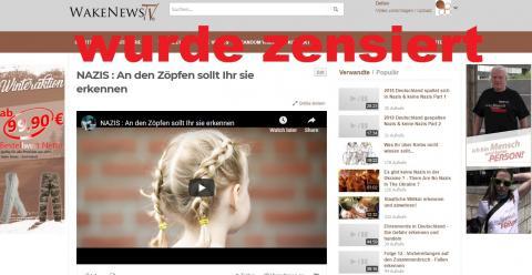 Schrumpfkopf TV Reanimation von Jasinnas gesperrtem Vid An den Zöpfen werdet ihr sie erkennen ...