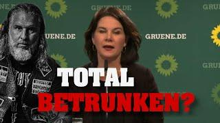 GRÜNEN-Chefin erneut total betrunken? War es das mit KANZLER?