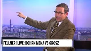 """""""Es braucht nicht mehr EU, sonder gar keine mehr!"""" Gerald Grosz in Fellner Live"""