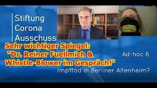 """Sehr wichtiger Spiegel: """"Dr. Reiner Fuellmich und Whistle-Blower im Gespräch!"""""""