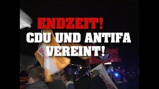 ENDZEIT! CDU und Antifa vereint!