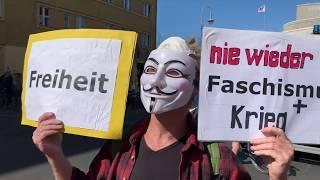 Verhaftungen | Live Report Berlin: Demo gegen Notstand