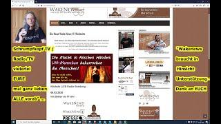 Schrumpfkopf TV / Martin bittet Euch um Eure Unterstützung für Wake News Radio/TV ...