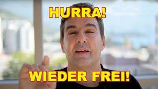 Mein Kanal ist wieder frei: Youtube zieht seine Sperre und die Zensur –nach drei Tagen Maulkorb.
