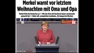 ???? Angela Merkel kündigt letzte Weihnachten an? - Rüdiger Hoffmann zitiert US-Presse in Deutschlan
