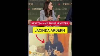 Jacinda Adern New Zealand prime minister