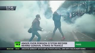 Frankreich: Massive Proteste gegen Rentenreform